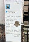 Pose de la stèle synagogue Versailles - hakeshet