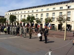 Commémoration de la rafle du Vel d'Hiv le 16/7/2013 à Versailles