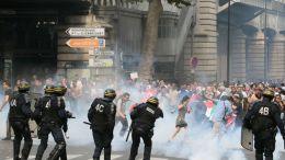 """Manifestation """"pacifique !"""" à Barbès"""
