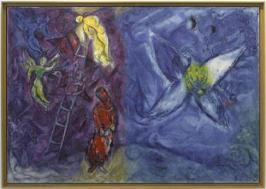 Chagall Songe de Jacob