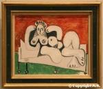 Picasso : La femme allongée