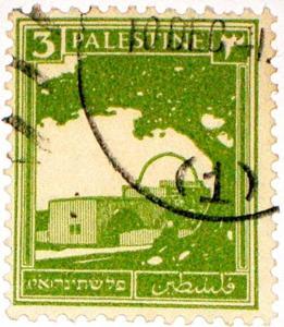 Timbre Palestine 1925