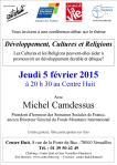 150205 Conférence Michel Camdessus  5-02-2015