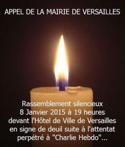 Rassemblement Versailles