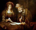 Esther et Mardochee Pourim