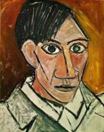 Picasso self-portrait-1907