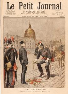 Dégradation du Capitaine Dreyfus