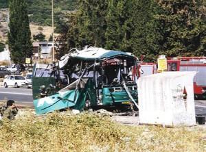 Pourquoi une séparation ?  Attaque suicide à Meron, Israël en Août 2002