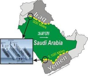 Mur Arabie Yémen Irak