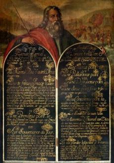 Moise-09 anonyme 16e siècle