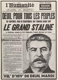 Mort de Staline Humanité