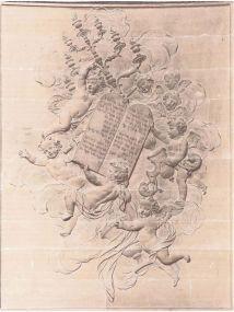 Nicolas Coustou, Attributs de l'Ancien Testament, Chapelle Royale Versailles