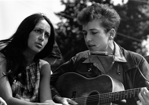Dylan et Joan Baez