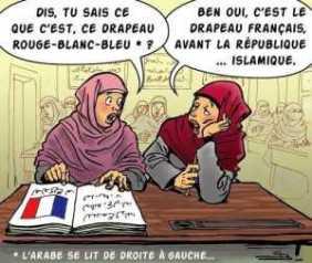 drapeau france islam