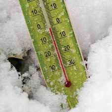 thermomètre glace