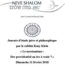 Neve Shalom journee d'etude Rony Klein 2018.jpg