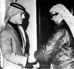 Arafat & Hussein