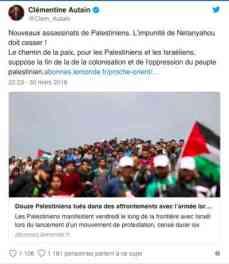 Clémentine Autain Gaza 1