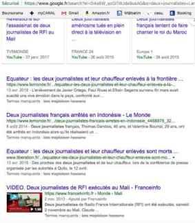Recherche Googe Lara Kan'an Majdoleen Hassona français