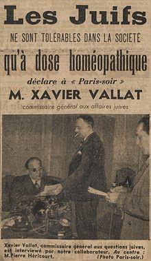 Xavier Vallat