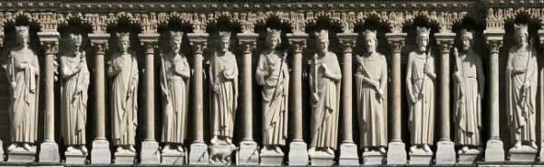 Rois Israel Notre Dame