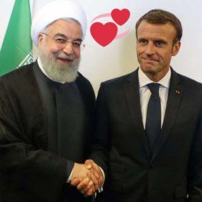 Macron Rouhani