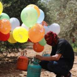 Ballons Gaza