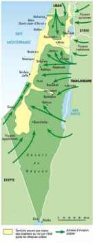 6 attaques arabes 1948