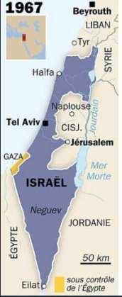 7 Lignes de cessez le feu 1949-1967